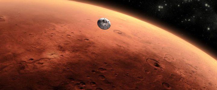 Sonde sur Mars