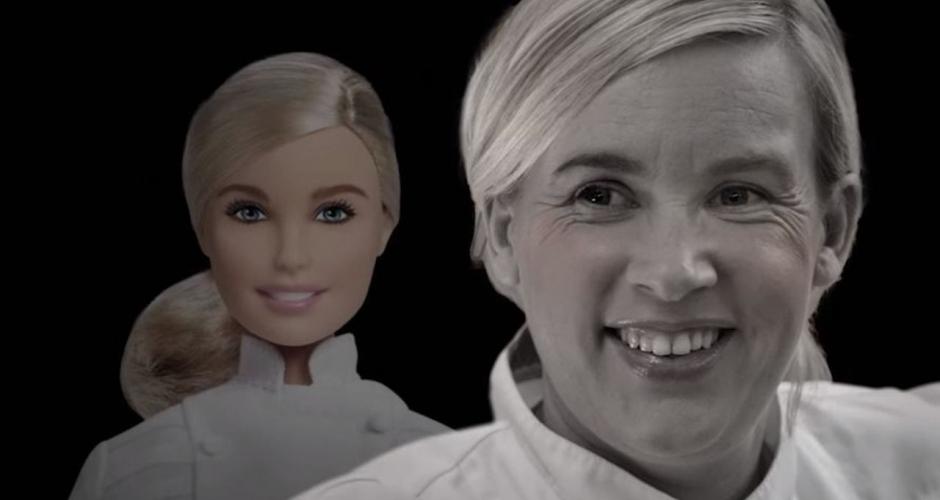 Barbie à l'effigie d'Hélène Darozze