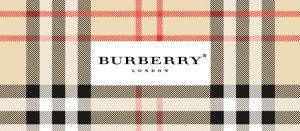Echarpe tartan Burberry