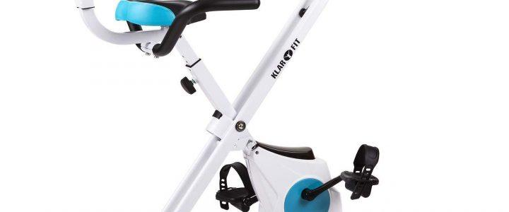 vélo d'appartement pliable azura