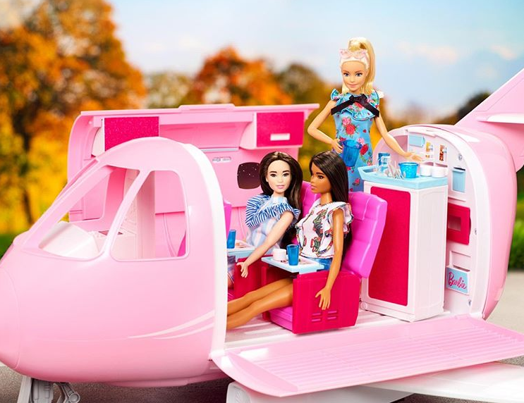accessoire l'avion de barbie