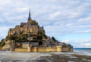 Ile du Mont-Saint-Michel en Normandie