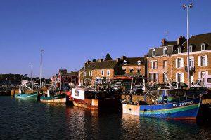 Port de Paimpol en Bretagne