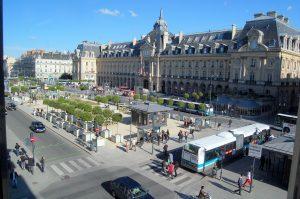 Place de la République à Rennes en Ille-et-Vilaine
