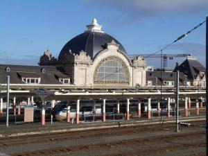 Gare ferroviaire de la ville de Saint-Brieuc